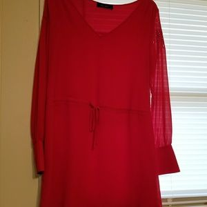 Red Lizard Thicket Dress